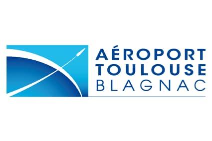 Logo Toulouse Blagnac transfert aeroport
